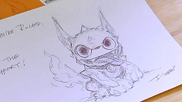 How To Draw a Skylander Masterclass From Character Director I-Wei Huang